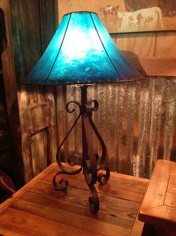 Iron Table Lamp 028