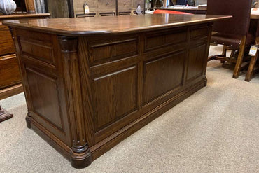 Jefferson Executive Oak Office Desk