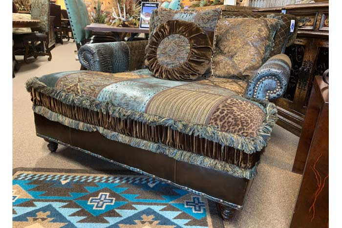 Mack Patchwork Chaise
