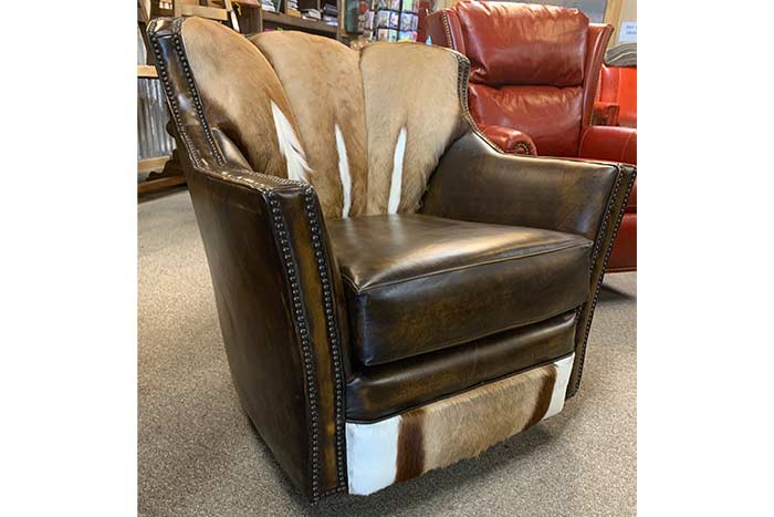 Springbok Puma Swivel Glider Chair