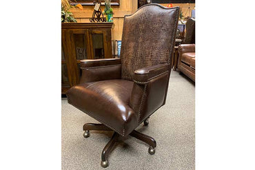 Gator Leather Office Chair
