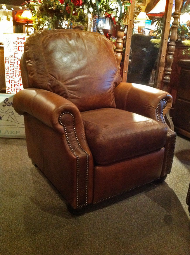 Ronelo Gator Leather Recliner