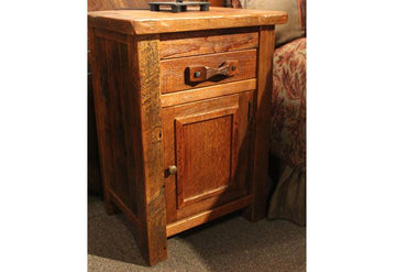 Stony Ridge Nightstand With Hidden Drawer