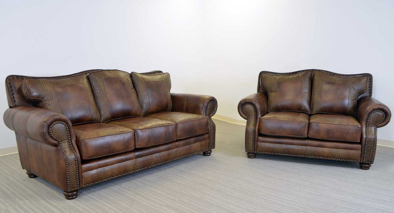 Kermit Leather Sofa