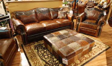 Stetson Leather Sofa