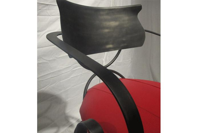 Sunset Bar Chair - Gun Metal