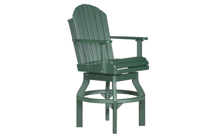 Adirondack Swivel Counter Chair