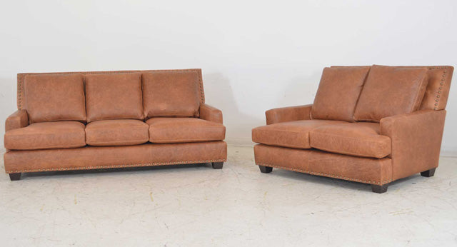 Kress Leather Sofa