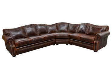Tucson Leather Sectional