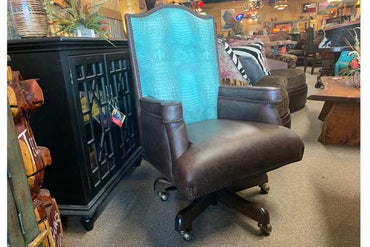 Western Leather Office Chair