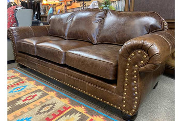 Vacchetta Leather Sofa