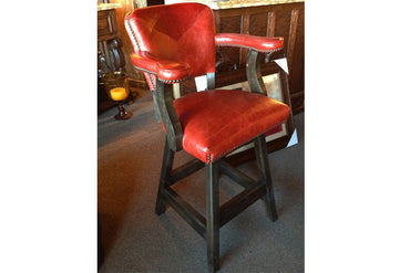 Maribel Bar Chair - Red