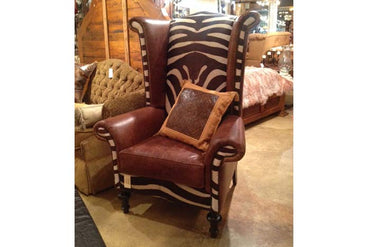 Western Wingback Chair