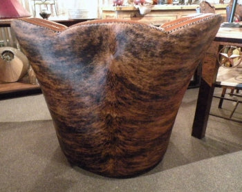 Western Cowhide Chair