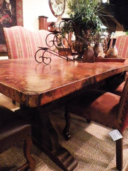 Royal Copper Dining Table