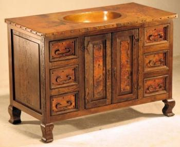 Tuscan Copper Vanity (Large)