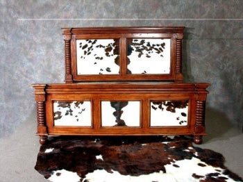 Cattleman Cowhide Bed