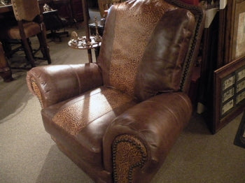 Mocha Swivel Recliner