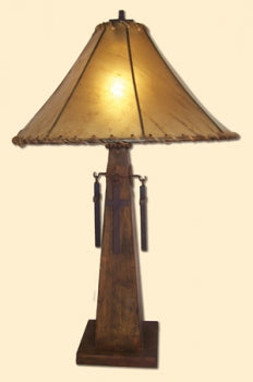 Patina Cross Lamp 1