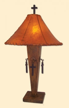 Patina Cross Lamp 3