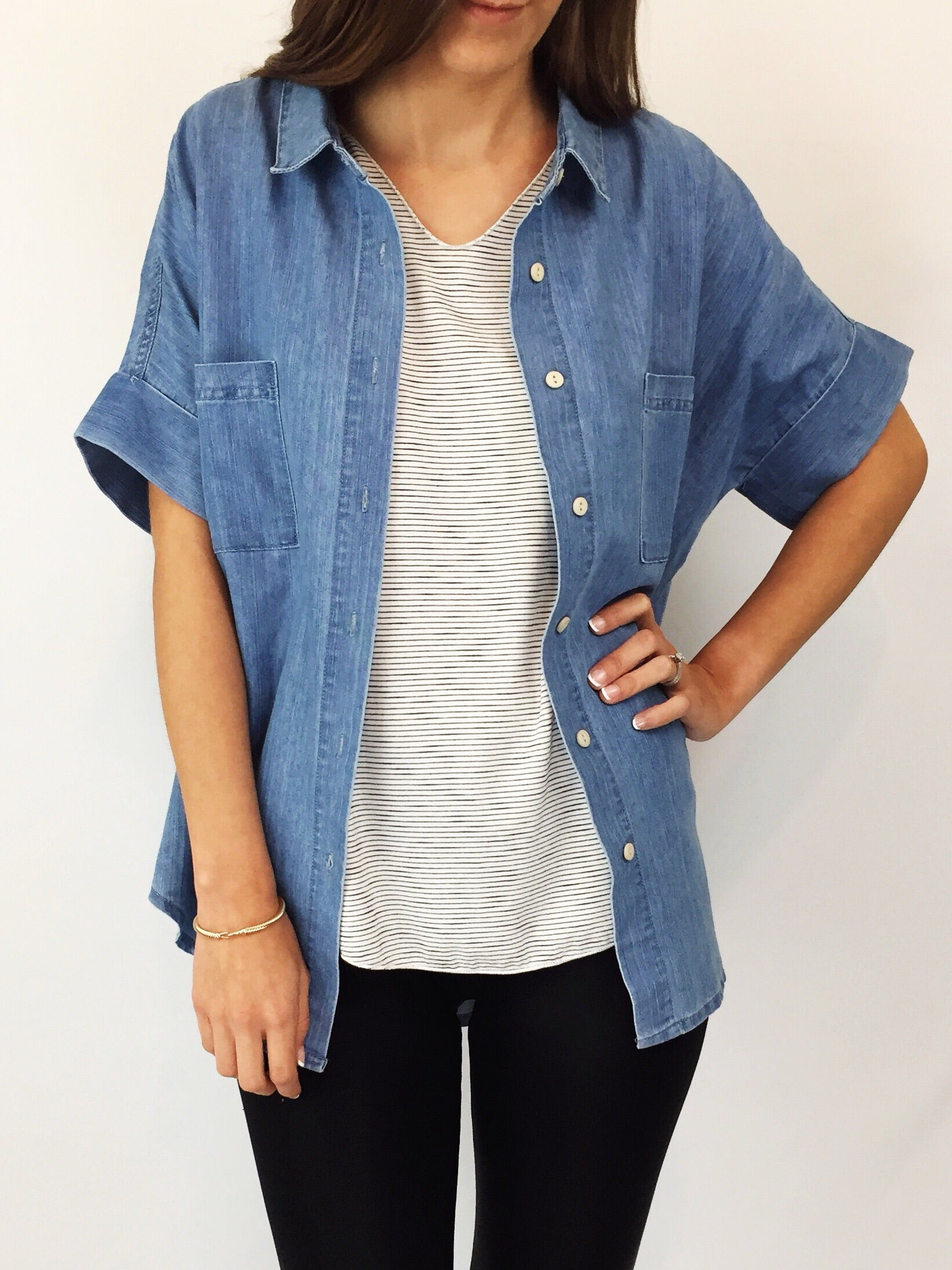 Hendricks Denim Top