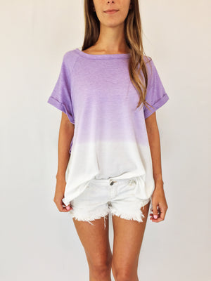 Audrina Oversized Top
