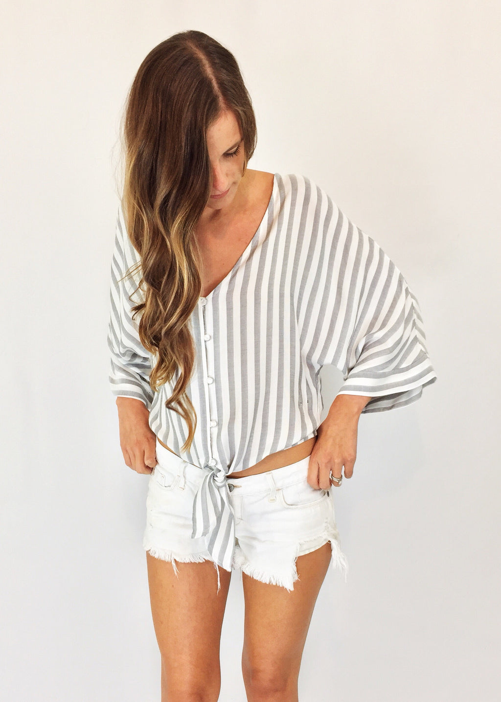 Hannah Striped Top