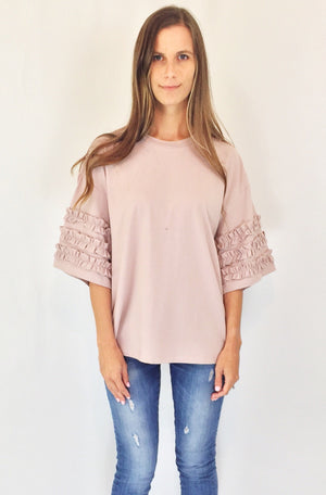Hillary Ruffled Top