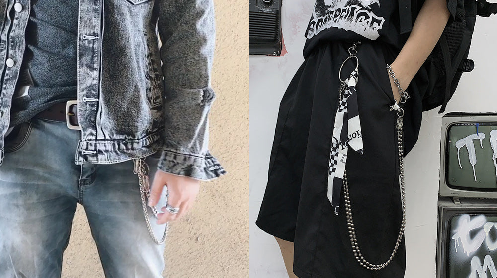 How Do You Style A Wallet Chain