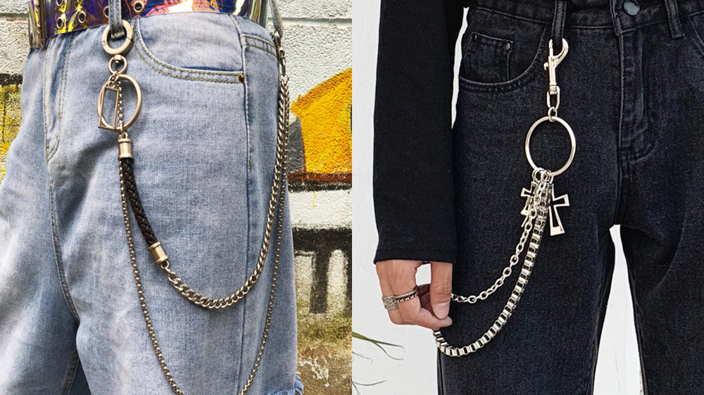 How To Wear A Pants Chain?