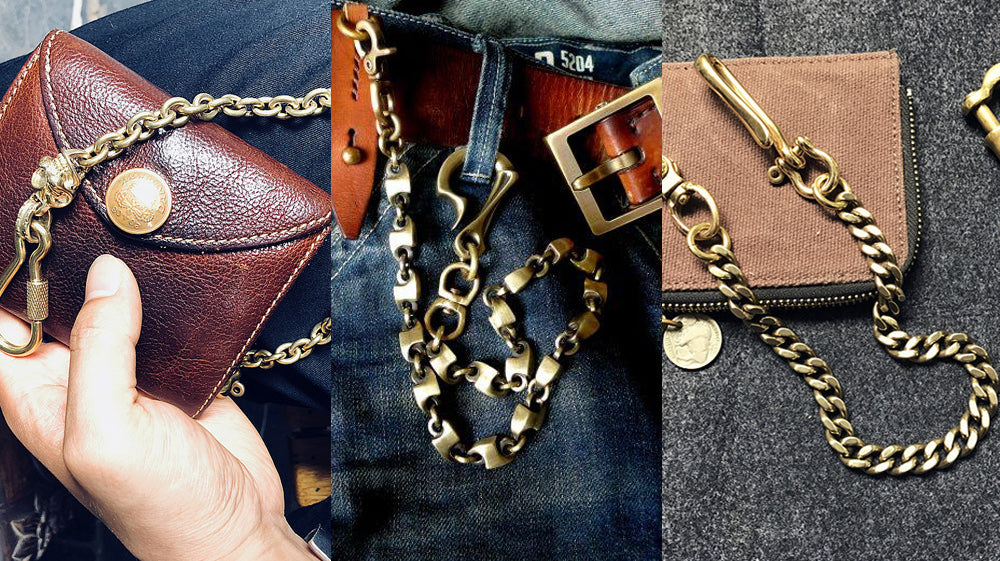 27 Best Gold Wallet Chain That Are An Absolute Joy to Carry 2020
