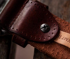 Handmade Cool Leather Mens Belt Black Leather Men Belt for Men