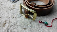 Handmade Leather Mens Belt Men Distress Leather Belt for Men