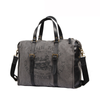 Fashion Canvas Leather Mens Weekender Bags Travel Bag Canvas Duffle Bag For Men