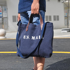 Blue Fashion Canvas Mens Womens Tote Handbag Messenger Bags Green Shoulder Tote Bag For Men and Women