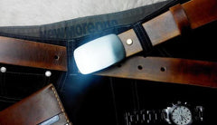Handmade Vintage Brown Leather Mens Belt Leather Belt for Men