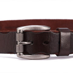 Handmade Genuine Leather Cool Belt Custom Mens Leather Men Brown Black Belt