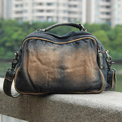 Blue Denim Mens Womens Small Messenger Bag Jean Casual Postman Bags Shoulder Bag Courier Bag For Men
