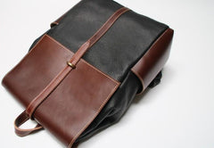 Handmade Mens Leather Backpacks Cool Travel Backpacks Laptop Backpack for men