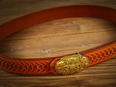 Handmade Genuine Custom Leather Mens Leather Men Brown Black Belt for Men