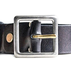 Handmade Genuine Custom Leather Mens Leather Men Black Brown Belt for Men