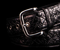 Handmade Leather Mens Belt Custom Cool Leather Black Men Belt for Men