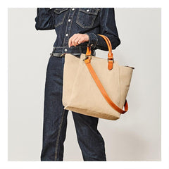 Vintage Canvas Mens Womens Tote Handbag Canvas Shoulder Messenger Bags for Men Women