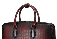 Handmade Leather Mens Briefcase Work Bag Laptop Bag Business Bag for Men