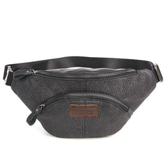 Cool LEATHER MENS FANNY PACK Vintage BUMBAG WAIST BAG FOR MEN