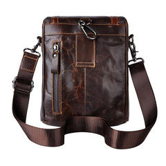 Vintage Leather Belt Pouch for Men Waist Bags BELT BAG Shoulder Bag For Men
