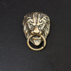 Gold Lion Wallet Conchos Conchos Button Lion Conchos Screw Back Lion Decorate Concho Lion Biker Wallet Concho Wallet Conchos