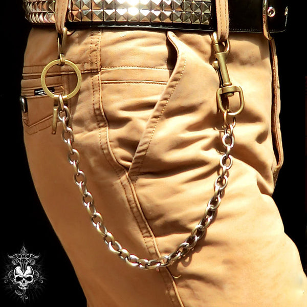 Metal Cool Punk Rock Wallet Chain Biker Trucker Wallet Chain Trucker Wallet Chain for Men