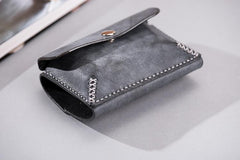 Handmade Leather Mens Cool Key Wallet Car Key Holder Car Key Case Card Holder for Men