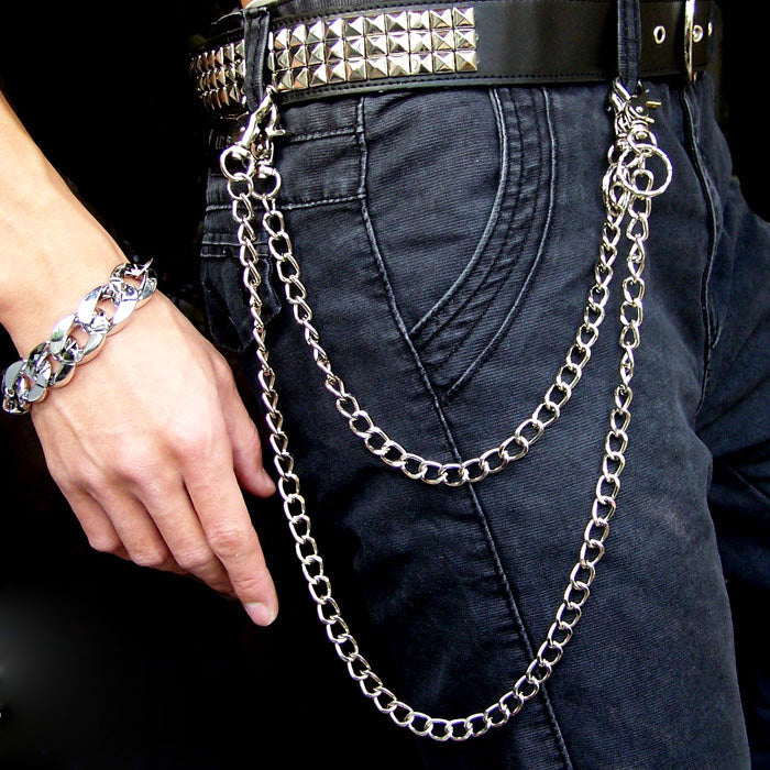 Metal Cool Wallet Chain Biker Trucker Wallet Chain Trucker Wallet Chain for Men
